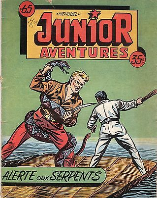 Junior Aventures 65 Editions Des Remparts 1956 Rare