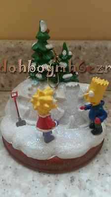 Bradford Exchange 2003 Simpsons Christmas Ornament Who's Been Naughty or Nice?