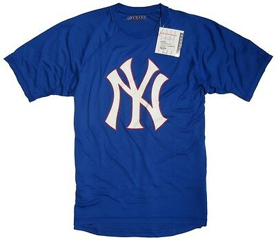 JERZEES New York Yankees T-Shirt Major League Baseball blau  NEU
