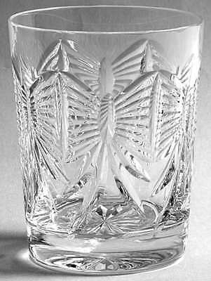 Waterford MILLENNIUM SERIES Happiness Double Old Fashioned Glass 4534590