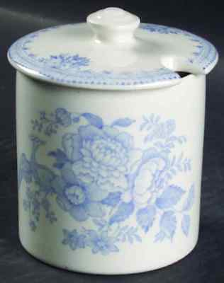 Burgess & Leigh ASIATIC PHEASANTS BLUE Jam Jelly Jar 4575733
