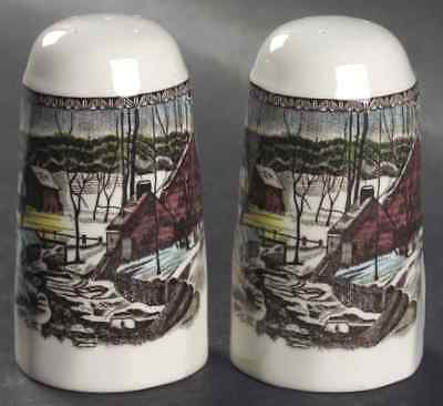 Johnson Brothers THE FRIENDLY VILLAGE (MADE IN CHINA) Salt & Pepper 4740180