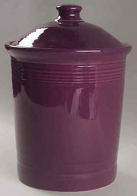 """Homer Laughlin FIESTA HEATHER (CONTEMPORARY) 8"""" Canister 5740835"""