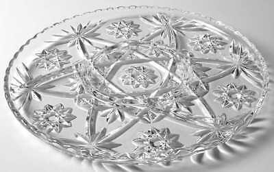 Anchor Hocking PRESCUT CLEAR 4 Part Relish Dish 6570519