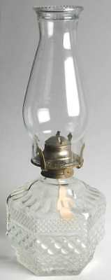 Anchor Hocking WEXFORD Oil Lamp & Shade 9094697