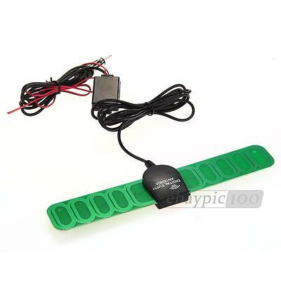 Auto Car Electronic TV DVB-T AM FM Radio Antenna Aerial Amp Amplified Booster