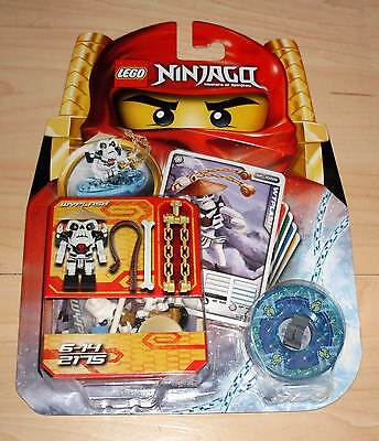 lego ninjago 9574 lloyd zx ovp neu figur mit spinner 3. Black Bedroom Furniture Sets. Home Design Ideas