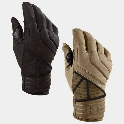 Under Armour 1242620 Men's UA Tactical Duty Gloves BLACK BROWN All Sizes