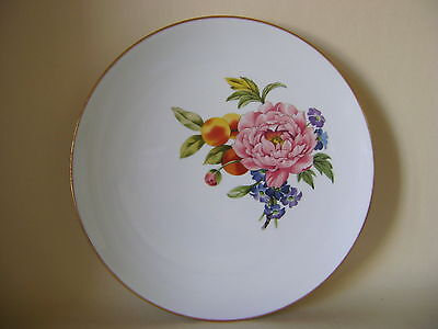Royal Worcester 9 Inch Plate Floral Pattern?