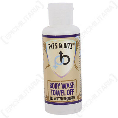 Waterless Body Wash 65ml Camping and Festival Ready No Water Needed
