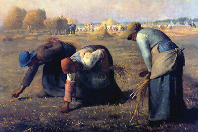 The Gleaners Women Gleaning Field After Harvest 1857 Painting By Millet Repro