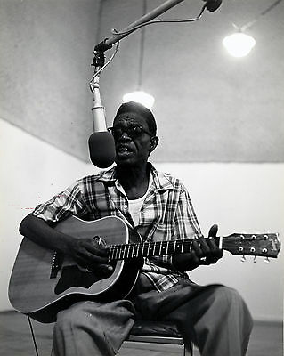 Sam John lightnin' Hopkins, 8x10 B&W Photo