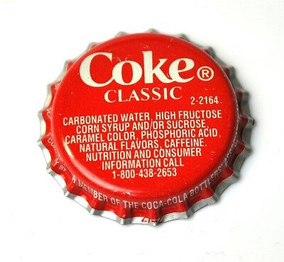 Coca-Cola Coke Classic Kronkorken USA Bottle caps rot 2-2164