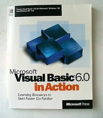 """BOOK """"Microsoft Visual Basic 6.0 In Action"""" - Microsoft Press Learning Edition 6"""