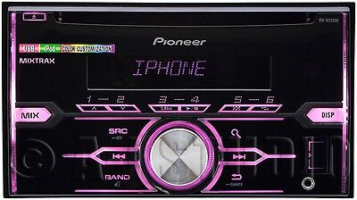 PIONEER FH-X520UI CAR DOUBLE-DIN CD/MP3 PLAYER RECEIVER PANDORA ANDROID MUSIC