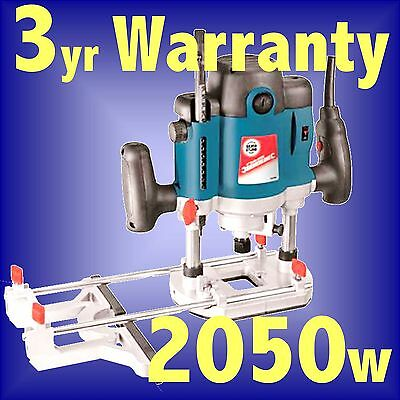 Silverline 2050w 1/2 Electric Plunge Router cutter INC 1/2 1/4 8 10 12mm Collets
