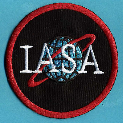 "John Crichton Farscape IASA Embroidered 3"" Iron-On Patch"