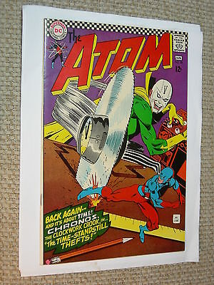 The Atom #28 8.0 VF Chronos is back White Pages