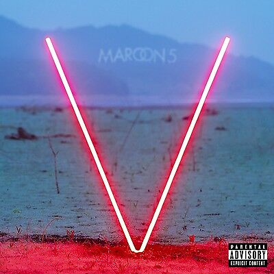 Maroon 5 - V (Deluxe CD 2014) PA Explicit 14 tracks Brand New & Sealed