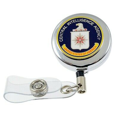 DEA DRUG ENFORCEMENT AGENCY LANYARD ID HOLDER KEY LANYARD FBI CIA ATF DOD BLACK