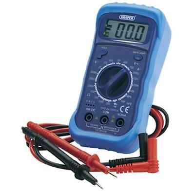 Draper 60792 Digital Multimeter Volt Meter With Light