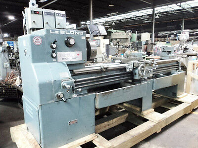 "Leblond Regal  19""x 80"" Servo Shift Engine Lathe"