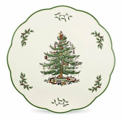NEW Spode Christmas Tree Cheese Plate or Trivet