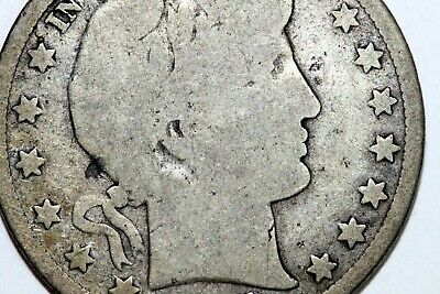 Up for Sale 1905-S Barber Silver Half Dollar that Grades Good 50C (BARH667)