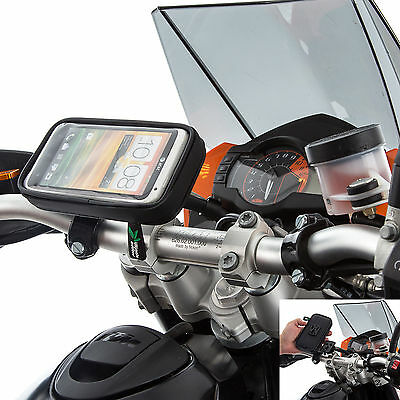"""Motorcycle Handlebar M10 Clamp Bolt Mount + Case for Apple iPhone 6 6s 7 4.7"""""""