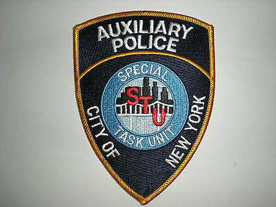 New York City Special Task Unit Police Auxiliary Patch