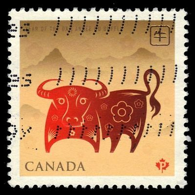 CANADA 2296 - Year of the Ox (pa15592)