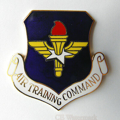 US AIR FORCE AIR TRAINING COMMAND LARGE LOGO LAPEL PIN 1.5 inches