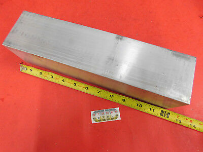 """4 Pieces 3"""" X 3"""" ALUMINUM 6061 SQUARE SOLID BAR 12"""" long T6511 Flat Mill Stock"""