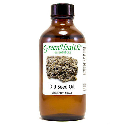 4 fl oz Dill Seed Essential Oil (100% Pure & Natural) - GreenHealth
