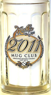 MUELLER ALES & LAGERS 2011 MUG CLUB - SPRINGFIELD BREWING CO. , SPRINGFIELD, MO.