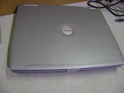 DELL LATITUDE D610 14.1 LAPTOP NOTEBOOK 1.6GHz PENTIUM M 512MB DVD-RW WIFI NO HD
