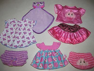 """Baby Alive 13"""" 14"""" Doll Clothes Outfit Blanket Lot Fit Little Mommy Corolle Gotz"""
