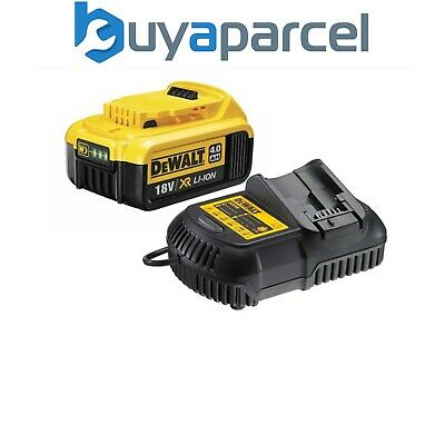 Dewalt DCB182 4.0ah 18v XR Lithium Ion Li-Ion Battery with DCB105 Charger