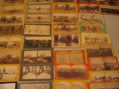 (32) Stereoview Photos Unlabeled