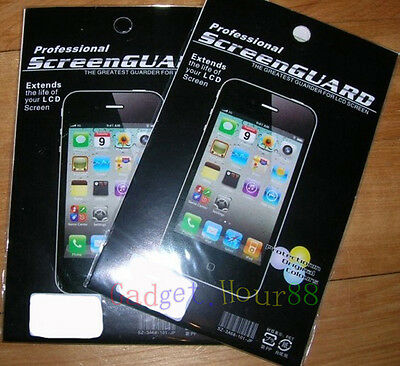 3x LCD Clear Guard Shield Screen Protector Film FOR Apple iphone ipod iWatch new