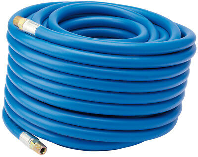 "Draper 20M Compressor Airline Hose 1/4"" BSP Male Fittings 6mm Inside Diameter"