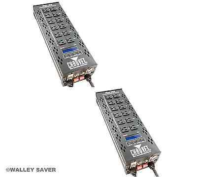 Lot of 2 Chauvet PRO D6 DIMMER PACK & FREE SHIPPING