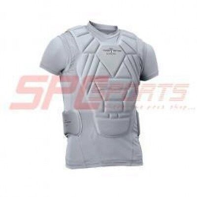 Easton Torso Tection Youth Protection Shirt Gray A164190 Youth XL