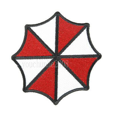 RESIDENT EVIL UMBRELLA CORPORATION EMBROIDERED BADGE PATCH-34384
