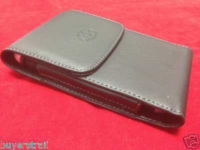 VERTICAL LEATHER CASE Fits WITH EXTENDED BATTERY FOR Samsung Cell Phones New