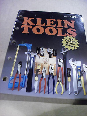 Klein Tool Catalog # 139.3 From 2000