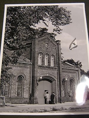 Berlin West ca.1965-Original altes Pressefoto 24x18 cm-Kirche mit Noteingang