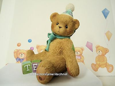Cherished Teddies Birthday Bear Age 10  1998 No Reg #  NIB