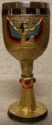 Wine Champagne Goblet Egyptian Goddess Isis 6 ounce pour NEW Stainless Steel