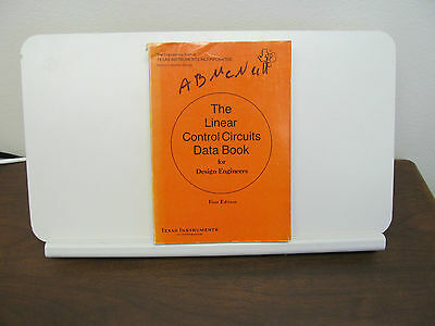 The Linear Control Circuits Data Book, First Edition,  By Texas Instruments,